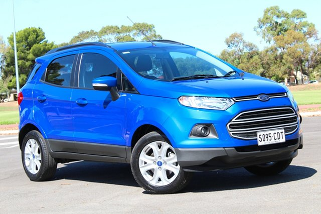 Used Ford Ecosport BK Trend PwrShift, 2017 Ford Ecosport BK Trend PwrShift Blue 6 Speed Sports Automatic Dual Clutch Wagon