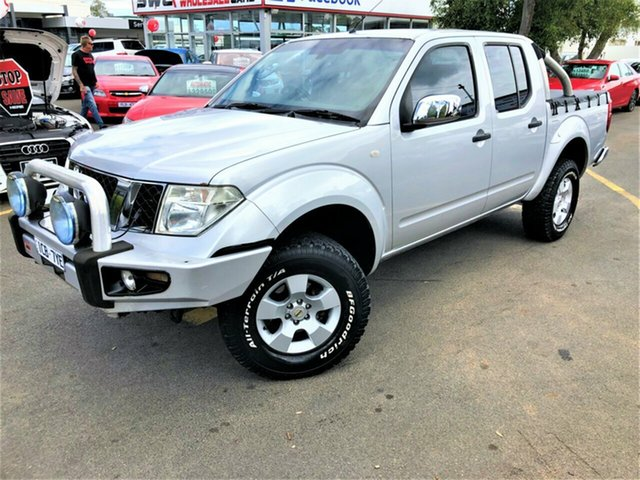 Used Nissan Navara D40 ST-X, 2005 Nissan Navara D40 ST-X Silver 6 Speed Manual Utility