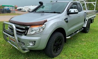 2013 Ford Ranger PX XLT Super Cab Silver 6 Speed Sports Automatic Utility