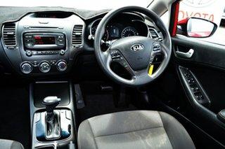 2017 Kia Cerato YD MY18 S Red 6 Speed Auto Seq Sportshift Hatchback