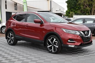 2019 Nissan Qashqai J11 Series 2 Ti X-tronic Red 1 Speed Constant Variable Wagon.