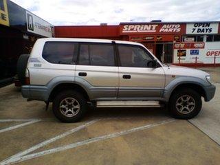 2002 Toyota Landcruiser Prado KZJ95R GXL Silver 4 Speed Automatic Wagon