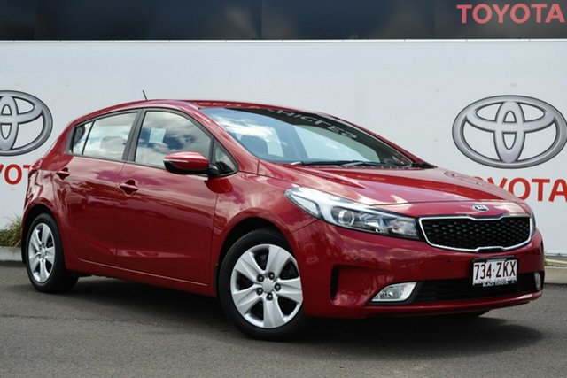 Used Kia Cerato YD MY18 S, 2017 Kia Cerato YD MY18 S 6 Speed Auto Seq Sportshift Hatchback