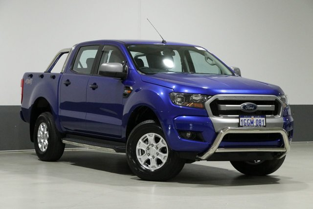 Used Ford Ranger PX MkII XLS 3.2 (4x4), 2016 Ford Ranger PX MkII XLS 3.2 (4x4) Blue 6 Speed Automatic Dual Cab Utility