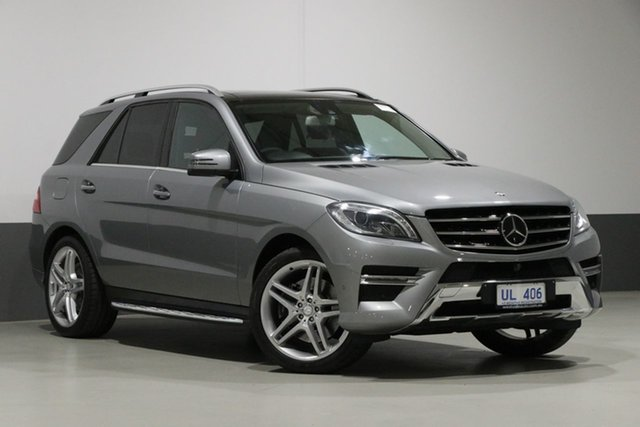 Used Mercedes-Benz ML400 166 MY14 4x4, 2014 Mercedes-Benz ML400 166 MY14 4x4 Silver 7 Speed Automatic Wagon