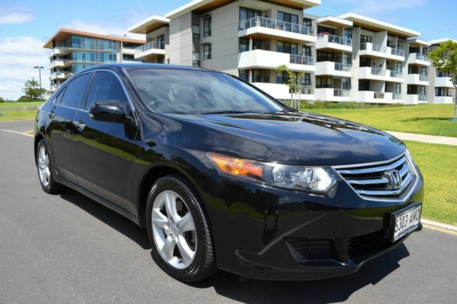 Used Honda Accord Euro CU MY12 , 2011 Honda Accord Euro CU MY12 Black 5 Speed Automatic Sedan