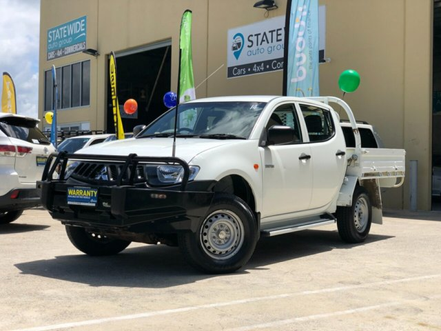 Used Mitsubishi Triton ML MY09 GLX (4x4), 2009 Mitsubishi Triton ML MY09 GLX (4x4) White 5 Speed Manual 4x4 Double Cab Utility