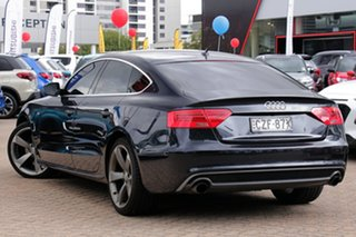 2015 Audi A5 8T MY15 Sportback 2.0 TFSI Quattro Blue 7 Speed Auto Direct Shift Hatchback.