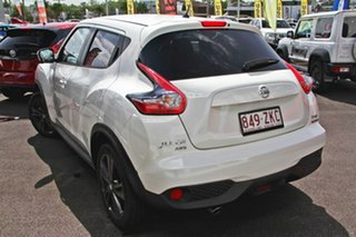 2018 Nissan Juke F15 MY18 Ti-S X-tronic AWD Ivory Pearl 1 Speed Constant Variable Hatchback