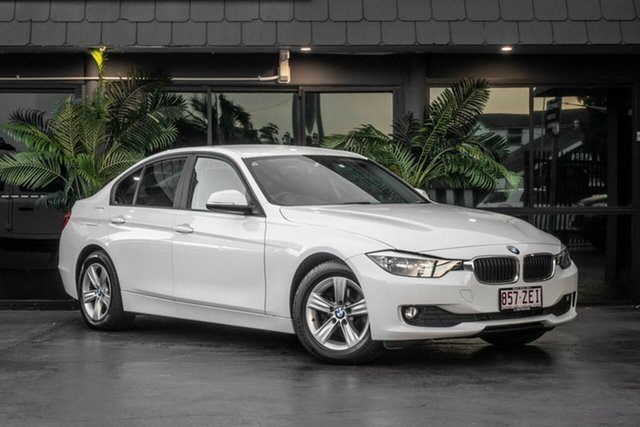 Used BMW 3 Series F30 MY0812 318d, 2012 BMW 3 Series F30 MY0812 318d White 8 Speed Automatic Sedan