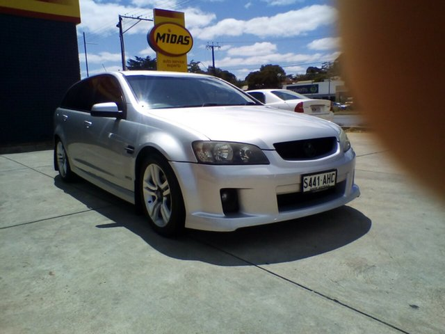 Used Holden Commodore VE MY10 SV6 Sportwagon, 2010 Holden Commodore VE MY10 SV6 Sportwagon Silver 6 Speed Sports Automatic Wagon