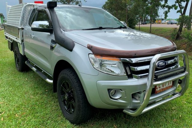 Used Ford Ranger PX XLT Super Cab, 2013 Ford Ranger PX XLT Super Cab Silver 6 Speed Sports Automatic Utility