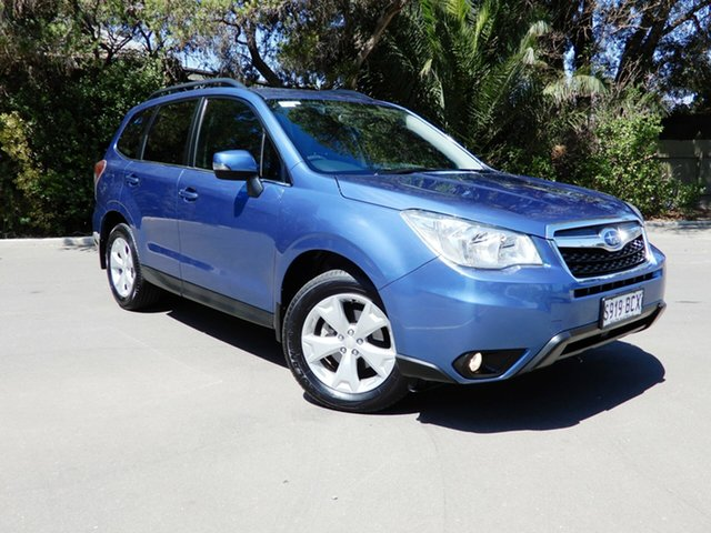 Used Subaru Forester S4 MY14 2.5i-L Lineartronic AWD, 2014 Subaru Forester S4 MY14 2.5i-L Lineartronic AWD Quartz Blue 6 Speed Constant Variable Wagon