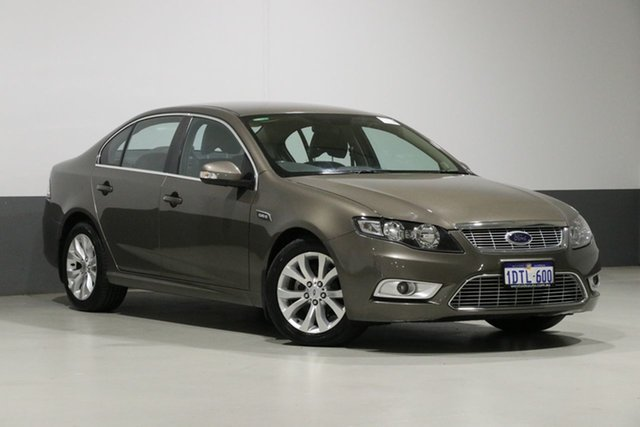 Used Ford Falcon FG G6, 2010 Ford Falcon FG G6 Brown 6 Speed Automatic Sedan