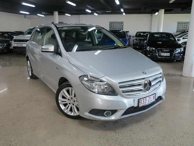 Used Mercedes-Benz B-Class W246 B200 BlueEFFICIENCY DCT, 2012 Mercedes-Benz B-Class W246 B200 BlueEFFICIENCY DCT Silver 7 Speed Sports Automatic Dual Clutch