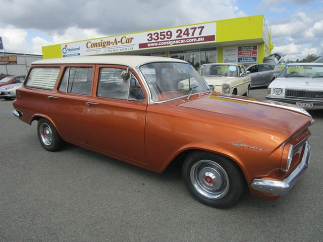 Used Holden EJ EJ Special, 1963 Holden EJ EJ Special Orange 3 Speed Manual Wagon