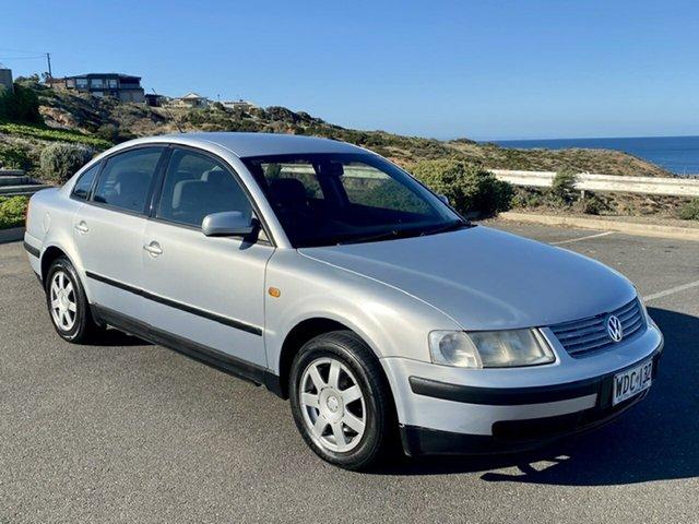 Used Volkswagen Passat Morphett Vale, 1998 Volkswagen Passat Silver 4 Speed Automatic Sedan