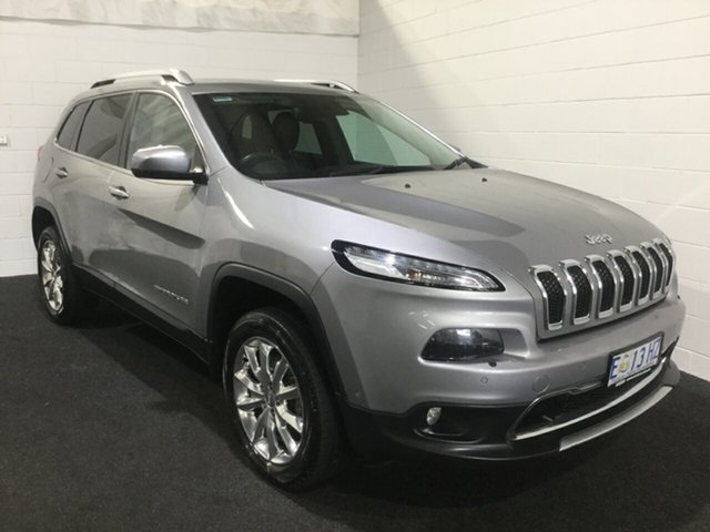 Used Jeep Cherokee KL MY15 Limited, 2015 Jeep Cherokee KL MY15 Limited Silver 9 Speed Sports Automatic Wagon