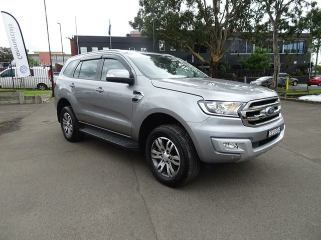 Used Ford Everest UA 2018.00MY Trend 4WD, 2017 Ford Everest UA 2018.00MY Trend 4WD Aluminum Grey 6 Speed Sports Automatic Wagon