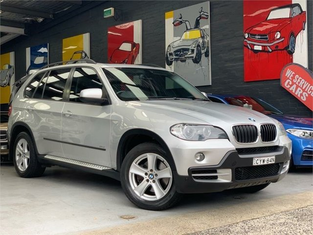 Used BMW X5 E70 , 2008 BMW X5 E70 xDrive30d Executive Titan Silver Sports Automatic Wagon