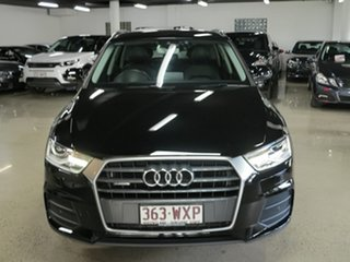 2016 Audi Q3 8U MY16 TDI S Tronic Quattro Black 7 Speed Sports Automatic Dual Clutch Wagon