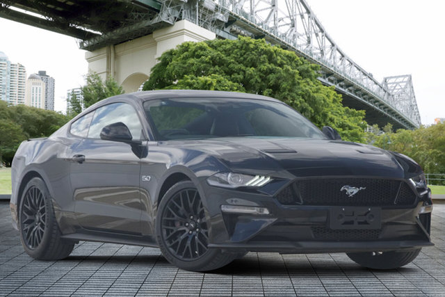 Used Ford Mustang FN 2018MY GT Fastback SelectShift, 2018 Ford Mustang FN 2018MY GT Fastback SelectShift Black 10 Speed Sports Automatic Fastback