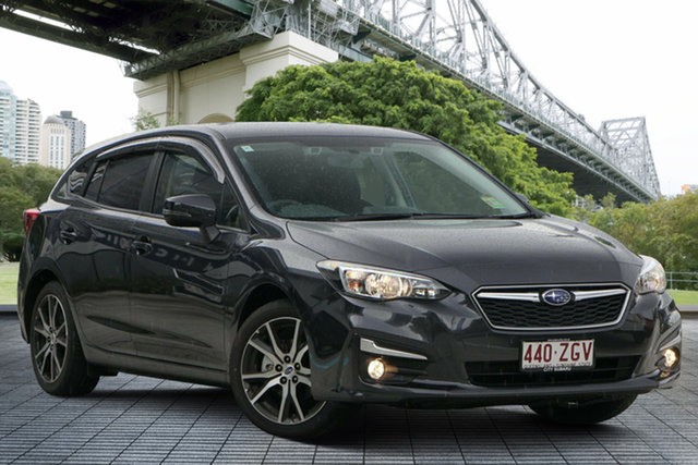 Demo Subaru Impreza G5 MY19 2.0i-L CVT AWD, 2019 Subaru Impreza G5 MY19 2.0i-L CVT AWD Dark Grey 7 Speed Constant Variable Hatchback