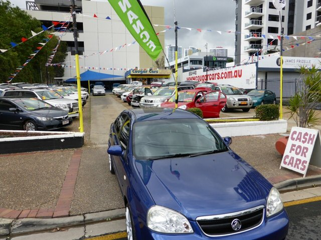 Used Holden Viva JF MY09 , 2009 Holden Viva JF MY09 Blue 4 Speed Automatic Sedan