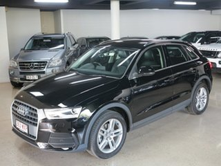 2016 Audi Q3 8U MY16 TDI S Tronic Quattro Black 7 Speed Sports Automatic Dual Clutch Wagon.