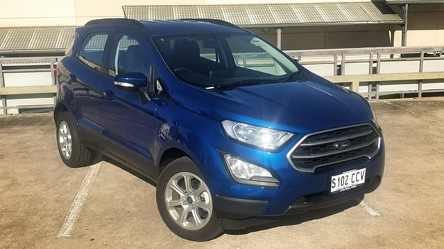 Demo Ford Ecosport BL 2020.00MY Trend, 2019 Ford Ecosport BL 2020.00MY Trend Blue Lightning 6 Speed Automatic Wagon