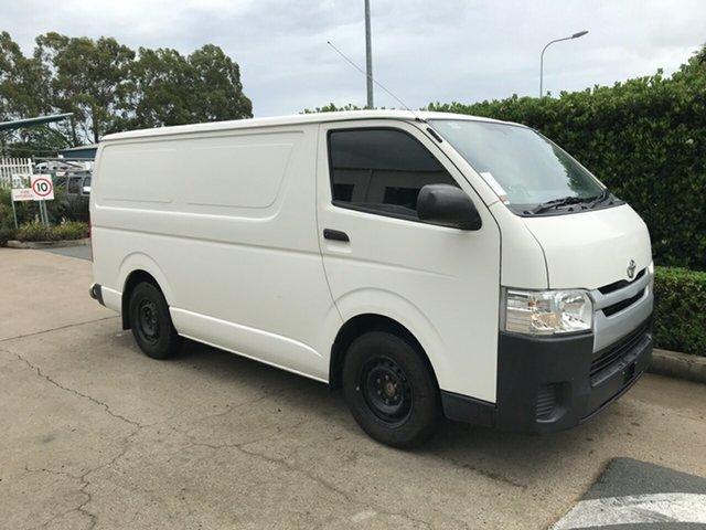 Used Toyota HiAce TRH201R LWB, 2016 Toyota HiAce TRH201R LWB French Vanilla 5 speed Manual Van