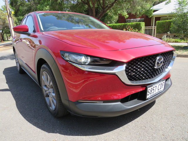 Demo Mazda CX-30 DM2WLA G25 SKYACTIV-Drive Touring, 2019 Mazda CX-30 DM2WLA G25 SKYACTIV-Drive Touring Soul Red Crystal 6 Speed Sports Automatic Wagon