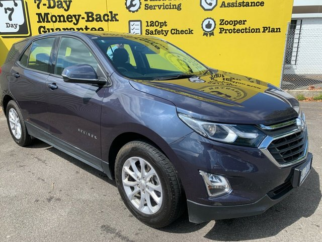 Used Holden Equinox EQ MY18 LS FWD, 2017 Holden Equinox EQ MY18 LS FWD Blue Steel 6 Speed Sports Automatic Wagon