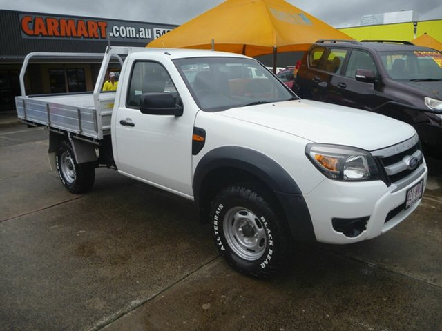 Used Ford Ranger PK XL, 2010 Ford Ranger PK XL White 5 Speed Automatic Cab Chassis