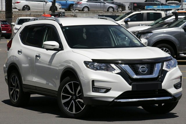 New Nissan X-Trail T32 Series II N-TREK X-tronic 2WD, 2019 Nissan X-Trail T32 Series II N-TREK X-tronic 2WD Ivory Pearl 7 Speed Constant Variable Wagon