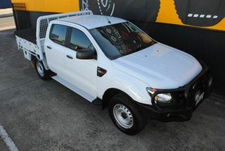 2014 Ford Ranger PX XL Plus Frozen White 6 Speed Sports Automatic Cab Chassis
