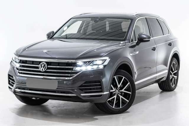 Used Volkswagen Touareg CR MY19 190TDI Tiptronic 4MOTION Launch Edition, 2019 Volkswagen Touareg CR MY19 190TDI Tiptronic 4MOTION Launch Edition Grey 8 Speed