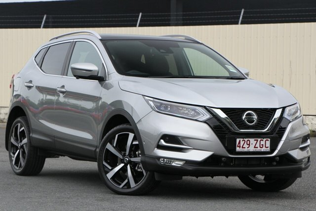 Demo Nissan Qashqai J11 Series 2 Ti X-tronic, 2019 Nissan Qashqai J11 Series 2 Ti X-tronic Platinum 1 Speed Constant Variable Wagon