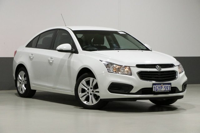 Used Holden Cruze JH MY15 Equipe, 2015 Holden Cruze JH MY15 Equipe White 6 Speed Automatic Sedan