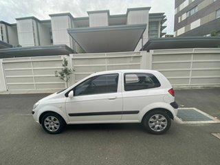 2011 Hyundai Getz TB MY09 S White 5 Speed Manual Hatchback