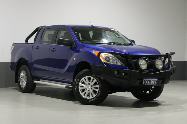 Used Mazda BT-50  XT (4x4), 2012 Mazda BT-50 XT (4x4) Blue 6 Speed Manual Dual Cab Utility