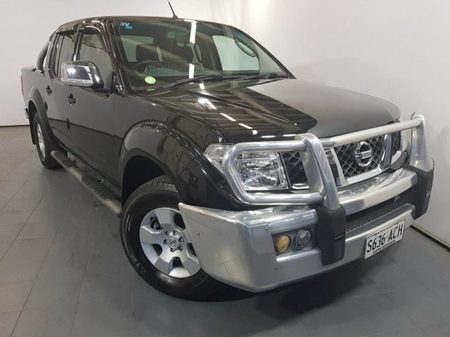 Used Nissan Navara D40 ST-X, 2008 Nissan Navara D40 ST-X Black 6 Speed Manual Utility