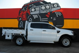 2014 Ford Ranger PX XL Plus Frozen White 6 Speed Sports Automatic Cab Chassis.