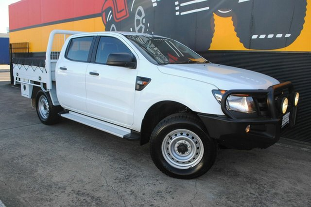 Used Ford Ranger PX XL Plus, 2014 Ford Ranger PX XL Plus Frozen White 6 Speed Sports Automatic Cab Chassis