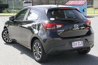 2016 Mazda 2 DJ2HA6 Genki SKYACTIV-MT Black 6 Speed Manual Hatchback.