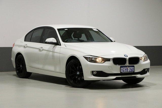 Used BMW 318d F30 , 2012 BMW 318d F30 White 8 Speed Automatic Sedan