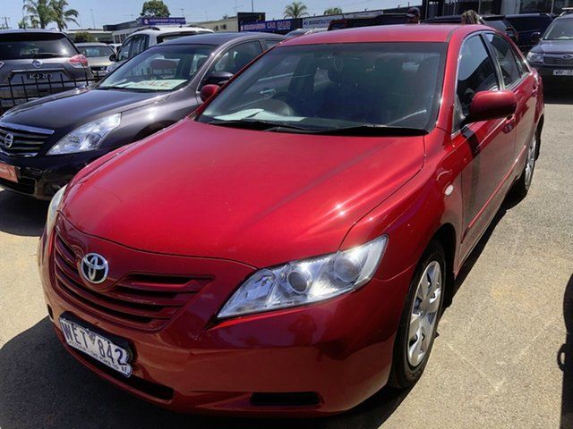 Used Toyota Camry ACV40R Altise, 2007 Toyota Camry ACV40R Altise Red 5 Speed Automatic Sedan
