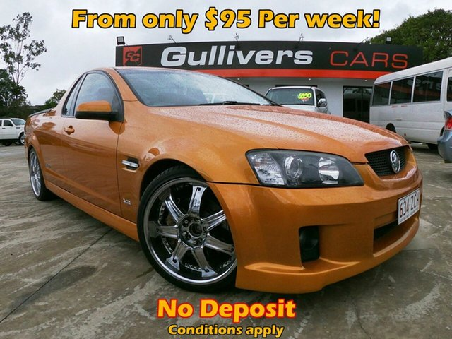 Used Holden Commodore VE SS, 2010 Holden Commodore VE SS Orange 6 Speed Manual Utility