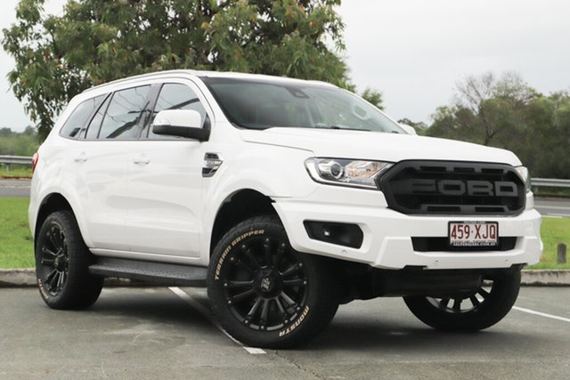Used Ford Everest UA Trend RWD, 2017 Ford Everest UA Trend RWD White 6 Speed Sports Automatic Wagon