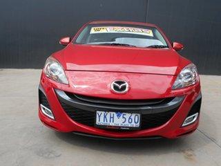 2010 Mazda 3 BL 10 Upgrade SP25 Red 5 Speed Automatic Sedan.